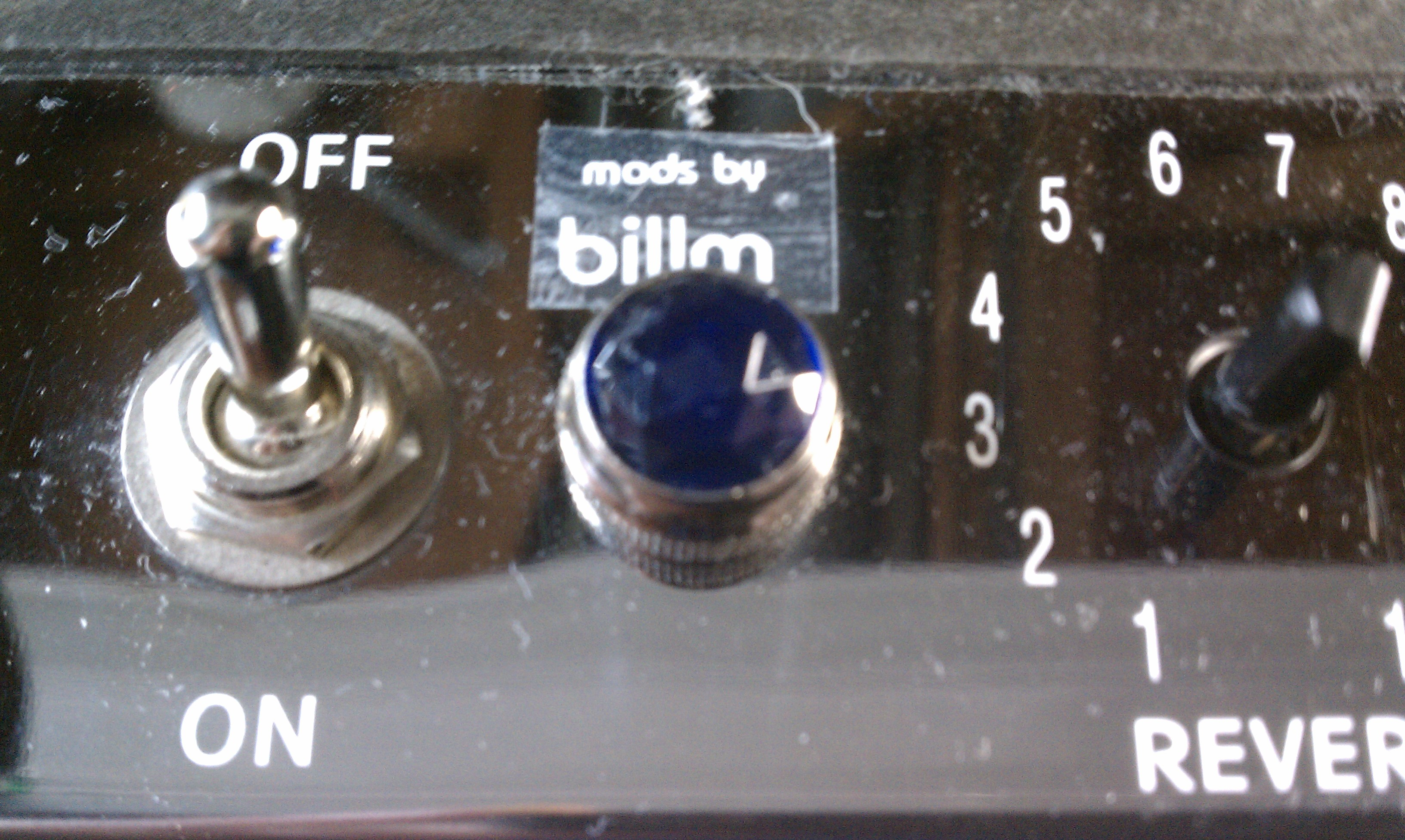 Billm Audio » Adding a Jewel Light to Fender Blues Junior