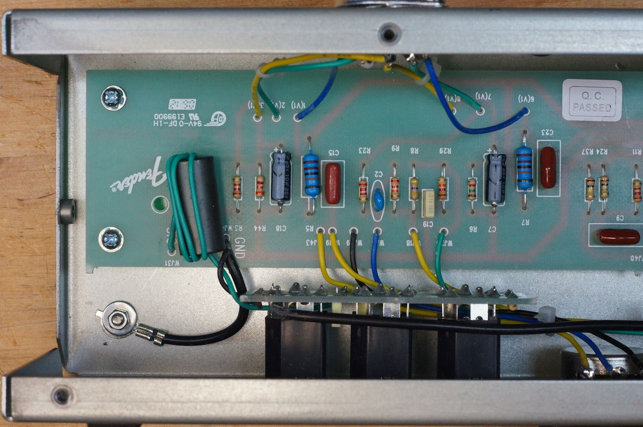 Billm Audio A Look Inside Fenders Excelsior 2012 Les Paul Standard Pcb Wiring Diagram Click